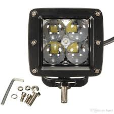 40w 12v 24v 4000lm 4 led work light fog lamp for motorcycle