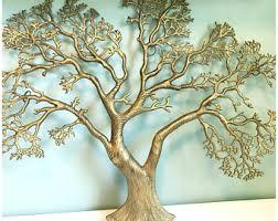 metal tree sculpture etsy