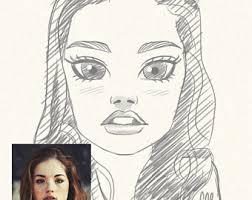 custom portrait custom portrait from photo pencil portrait
