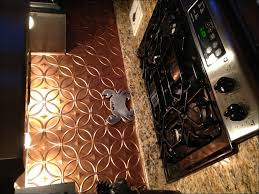 kitchen room marvelous copper penny backsplash brushed copper