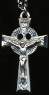 celtic crucifix pewter celtic crucifix 1 1 2in x 15 16in