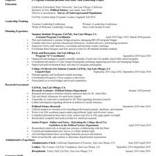 Resume Sales Coordinator Sle Resume For Abroad 28 Images Study Abroad Coordinator