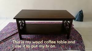 diy coffee table makeover youtube