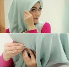tutorial hijab noura tutorial hijab paris sangat simple by laili noura tutorial hijab