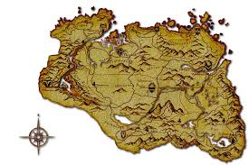 Map Of Skyrim The Map Skyrim Elder Scrolls V