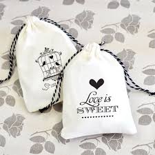 vintage wedding favors vintage wedding muslin favor bags set of 12 favor bags favor