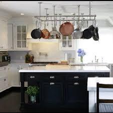 kitchen island hanging pot racks 239 best pot racks images on kitchens hanging jars