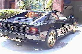 1987 testarossa for sale gold trimmed 1987 testarossa begs one question why