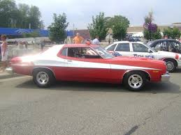 What Was The Starsky And Hutch Car Starsky And Hutch Gran Torino At Police Car Show Woodward