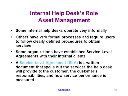 Help Desk Service Level Agreement A Guide To Help Desk Concepts Second Edition Ppt Video Online