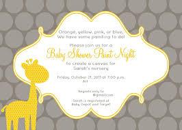best baby shower invitation template and yellow giraffe print plus