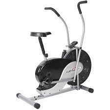 Fingerhut Lifemax Dual Action Fan Exercise Bike