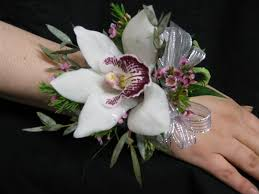 white orchid corsage order white cymbidium orchid corsage online baltimore maryland md
