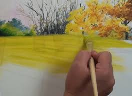 how to paint autumn trees in oil u2014 online art lessons