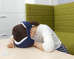 nap desk to sleep perchance to dream japanese public napping pillows and