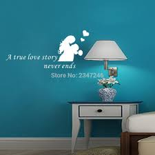 popular love stories true buy cheap love stories true lots from love quote wall decals a true love story never ends lover vinyl wall sticker couple art