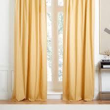 Cotton Canvas Curtains Cotton Canvas Window Curtain
