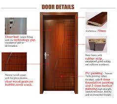 Modern Wood Door Wood Panel Door Design Simple Teak Wood Door Design Modern Wood