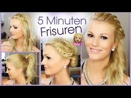 Frisuren Zum Selber Machen F Die Schule by 5 Minuten Frisuren Für Schule Uni Alltag