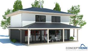 small house plan with open and efficient room planning three