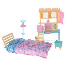 Barbie Dolls House Furniture Online Get Cheap Plastic Dollhouse Furniture Sets Aliexpress Com