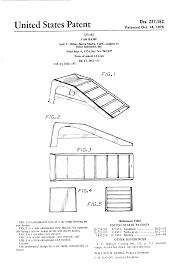 patent usd237162 car ramp google patents