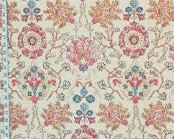 Arts And Crafts Rug Coral Pink Arts And Crafts Rug Fabric Purple Blue Gold Watercolor