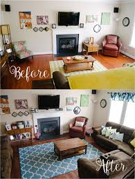 brown and blue home decor home decor our updated living room tour still being molly