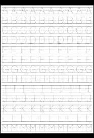 printable letter tracing worksheets letter tracing i need a ton of these printed lol school stuff