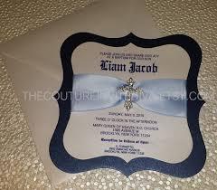 boy first holy communion invitation boy confirmation