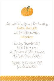 pumpkin invitation baby shower sample invitation sample baby shower invitation
