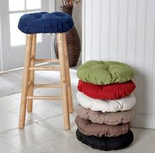 bar stools round foam bar stool cushion red covers cushions with