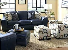 Leather Blue Sofa Navy Blue Leather Sofa Bemine Co
