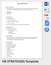 strategic plan templates marketing strategic plan template sample