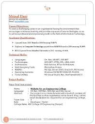 Sample Of Career Objectives In Resume by Best Chartered Accountant Resume Sample Doc With Experience 1