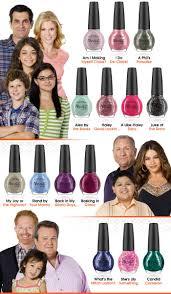 nail polish u0026 modern family iki0o