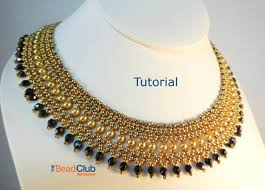 beaded necklace design images Beaded necklace patterns seed bead tutorials bead netting jpg