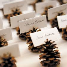 fall wedding placecard idea 082713