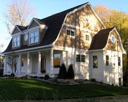 gambrel homes craftsman dormer gambrel roof home would work well for front of