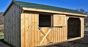 Horse Barn Builders In Florida Run In Sheds Horse Run In Sheds Horse Shelters Horizon