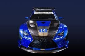 lexus sport performance lexus debuts its f performance rc f gt3 model at sema