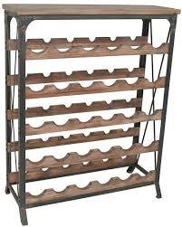wine rack in natural