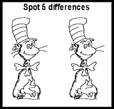 the difference coloring pages
