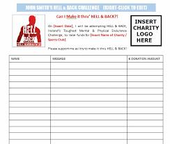 doc 725946 sponsorship sheet u2013 sponsorship form template 90