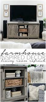 inspired decor farmhouse inspired decor living room refresh