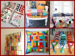 home decor from recycled materials top 30 diy patchwork ideas room decor from recycled materials