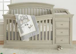 sorelle crib with changing table sorelle sedona crib and changer rustic taupe babies r us