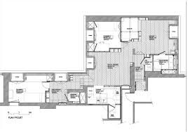 Floor Plan Flat by Gallery Of Arsenal Flat H2o Architectes 24