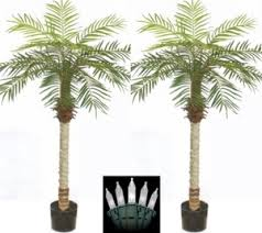 artificial palm tree with lights palm tree