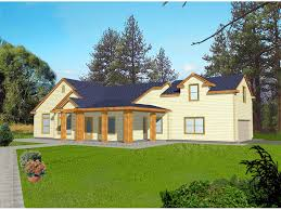 l shaped house with porch larkhall rustic ranch home plan 088d 0095 house plans and more